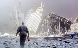 a1 911 Twin towers resized 300x186 Thoughts on that fateful September 11th from a man who wasn't there
